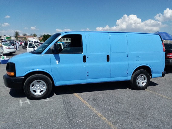 Chevrolet Express Van Panel 6 Cilindros