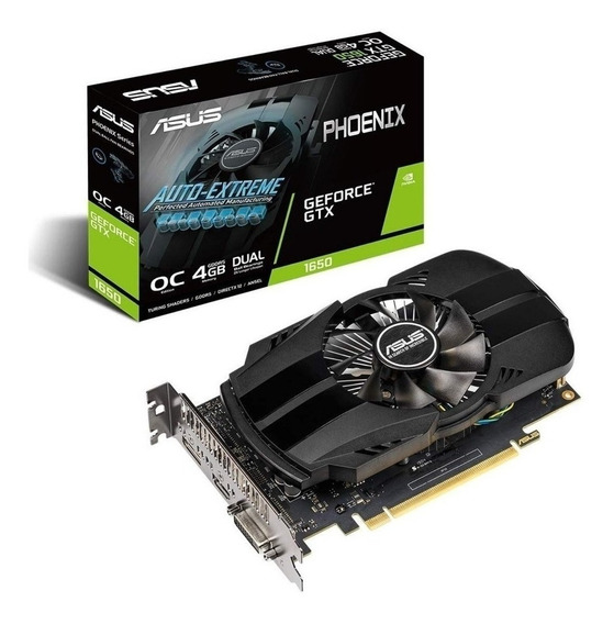Placa de video Nvidia Asus GeForce GTX 16 Series GTX 1650 PH-GTX1650-O4G OC Edition 4GB