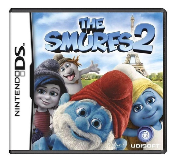 The Smurfs 2 Ds Mídia Física Pronta Entrega
