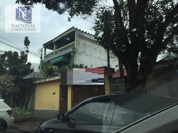 Terreno À Venda, 240 M² Por R$ 680.000,00 - Jardim Utinga - Santo André/sp - Te0959