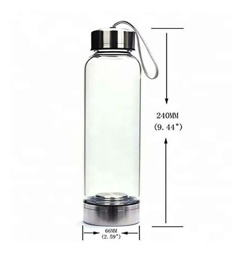 Botella Repuesto Para Cuarzo Natural