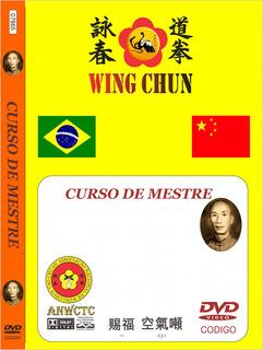 Curso Formação De Mestre Em Wing Chun Kungfu Certificado