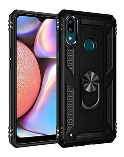 Estuche Forro Armor Ring Samsung Galaxy A10s - Negro