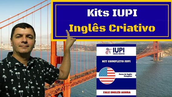 Inglês Iupi- Kit Completo Com Frete Grátis Para Todo Brasil