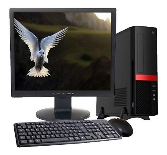 Computador Pc Intel Core 2 Duo 4gb Hd 500gb Dvd/rw + Wi-fi