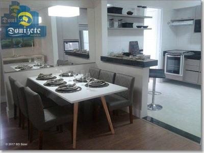 Apartamento Residencial À Venda, Jardim Bela Vista, Santo André. - Ap4991