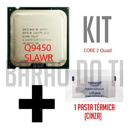 Processador Intel Q9450 2,66ghz 12mb 1333 + Pasta Térmica