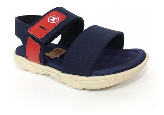 Sandalia Molekinho Infantil Velcro Confortavel 2135130