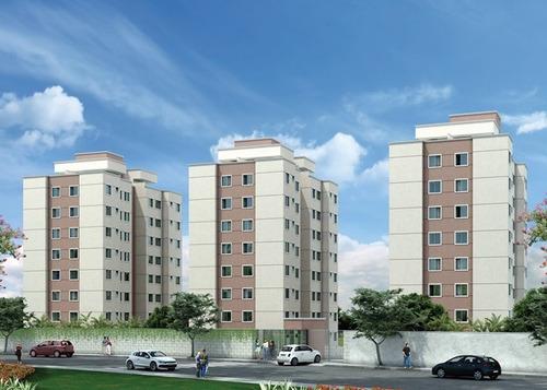 Apartamento 02 Quartos Bairro Jardim Vitoria - 2271