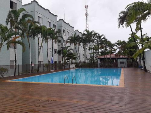 Lindo Apartamento Em Ubatuba Com 2 Quartos (1 Suíte), 1 Vaga