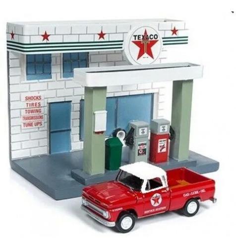 Imagem 1 de 1 de Johnny Lightning Texaco Service Center 1/64