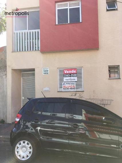 Apartamento À Venda, 61 M² Por R$ 250.000,00 - Osvaldo Cruz - São Caetano Do Sul/sp - Ap1182