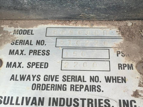 Compresor Sullivan 900