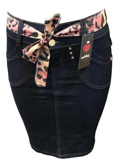 Kit 4 Saia Jeans Moda Evangelica Com Elastano Varios Modelos