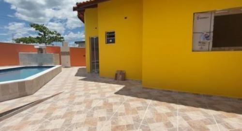 Casa No Jd. Jamaica Em Itanhaém ,confira!! 7458 J.k