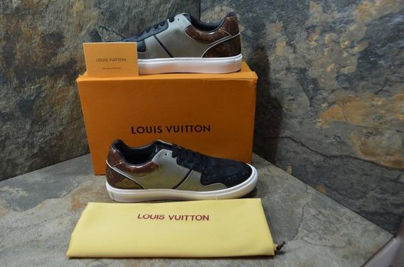 Tenis Casuales Louis Vuitton Con Envio Gratis !
