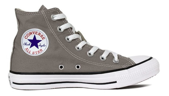 Tênis Bota All Star Cinza Pedra Ct04190026 Original C/nota