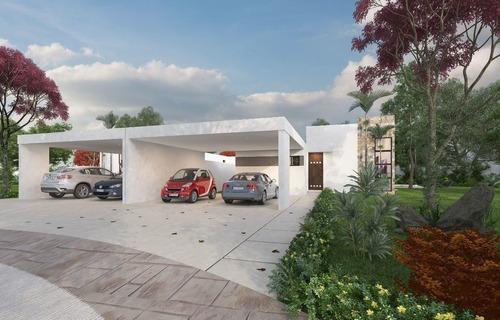 Amaranto, Privada Residencial, Tamanché. Mod. 336 Casa De Una Planta