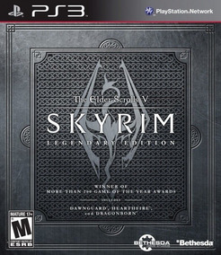 Jogo The Elder Scrolls V Skyrim Legendary Edition Ps3 Física