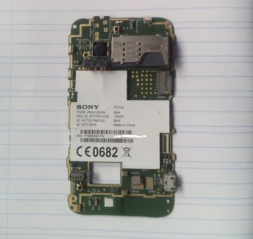 Placa De Celular Sony Xperia St21a