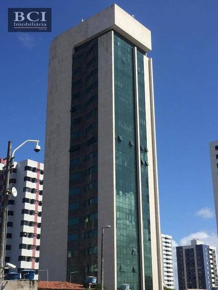 Sala Para Alugar, 55 M² Por R$ 2.000/mês - Boa Viagem - Recife/pe - Sa0076