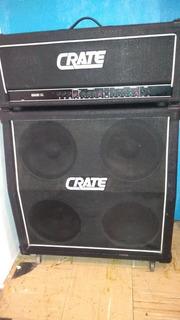 Cabezal Y Gabinnete 4x12 Marca Crate Mod.g600xl