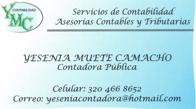 Declaraciones Renta Certificaciones Contador Público Yopal