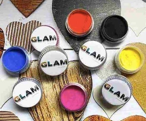 Polimeros Pigmentos Uñas Nail Art Colores Glam Oferta Mejores Glitters Esculpidas