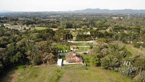 Chácara Com 5 Dormitórios À Venda, 96800 M² Por R$ 2.300.000,00 - Contenda - São José Dos Pinhais/pr - Ch0053
