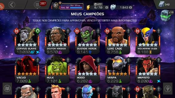 Mtc Marvel Torneio