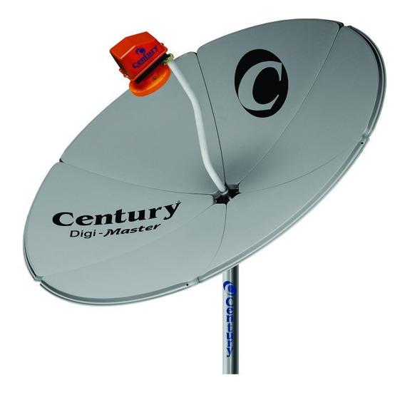 Antena Century Digi Master 1,50 M (com Bengala) + Lnbf