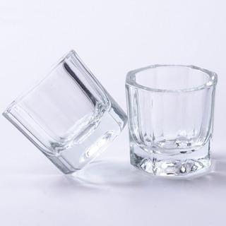 Vaso Cristal Monomero Para Salón De Uñas 10 Piezas