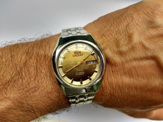 Relógio Orient Automático Masculino Antigo Raríssimo