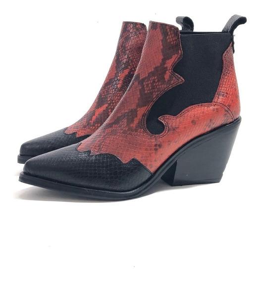 Texana Gravagna 5070 Cuero El Mercado De Zapatos!