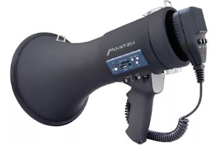 Megafono Recargable Usb Sd 250w Mitzu 500m Alcance