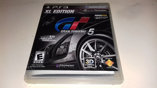 Juego Ps3 Gran Turismo 5 Xl Edition