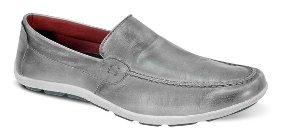Sapato Masculina Couro Confortável Sapatilha Bm Brasil 175