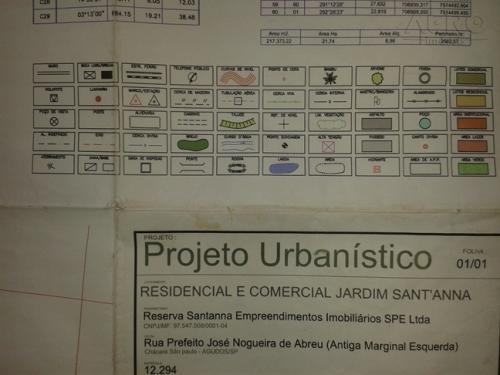Terreno Residencial À Venda, Centro, Agudos - Te0159. - Te0159
