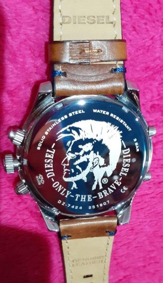 Relógio Diesel Masculino Boltdown Dz7424/0mn 100% Original