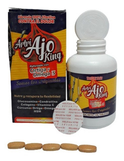 Artri Ajo King Artriking Ortiga Omega 3 100 Tab Envio Full