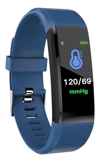 Reloj Smartband 115 Plus Brazalete Ritmo Cardiaco Calorias