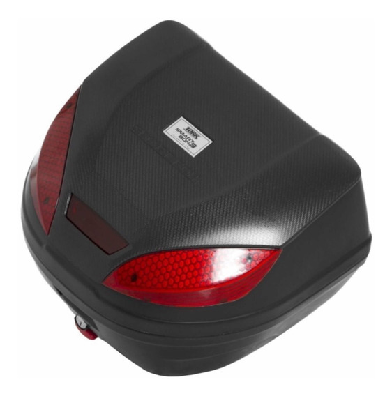 Bau Bauleto Moto 30 Litros Pro Tork Smart Box 3 Vermelho