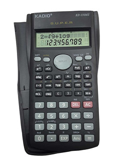 Calculadora Cientifica Completa Kadio + Gratis Envio!