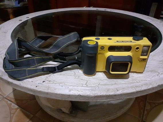 Câmera Fotográfica Submarina 35mm Minolta Weathermatic