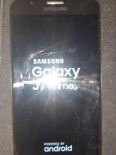 Samsung Galaxy J7 Prime .pantalla Rota.
