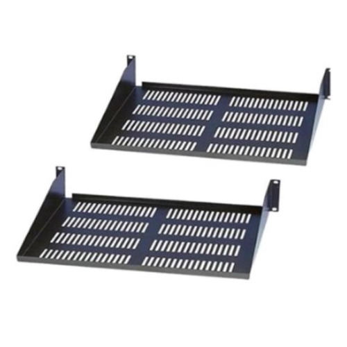 Bandeja Para Rack Metálica Porta Equipo 25 Cm De Profundidad