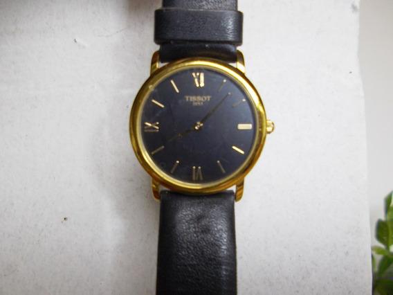 Relógio Masculino Tissot (suiço) Original 1853 Em Ouro 18k