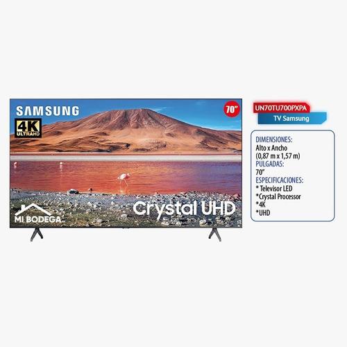 Televisor Samsung 70  Tu7000 Crystal Uhd 4k Smart Tv