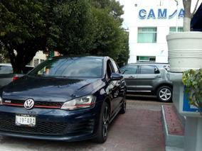 Volkswagen Golf Gti L4/2.0 Piel Aut P2 Nave A/e R18 Sonido