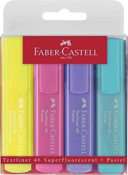 4 Super conector libre Faber Castell 50 Fieltro Punta Plumas Varios Colores